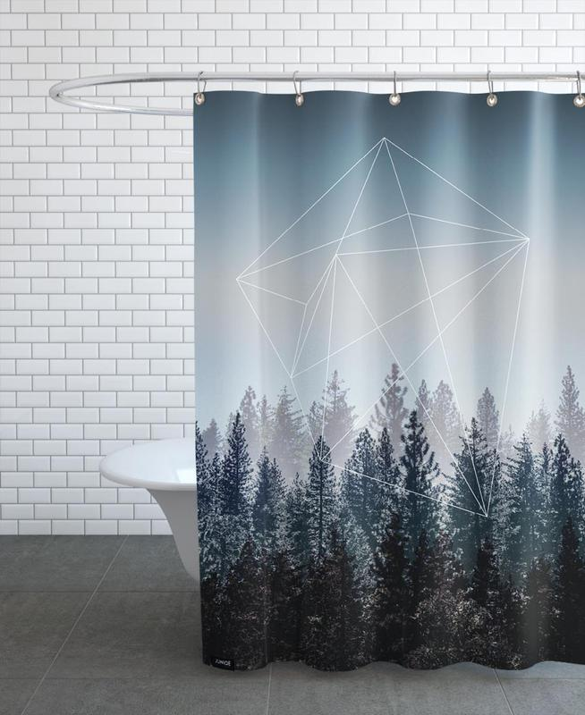 Woods As Shower Curtain By Mareike Bohmer