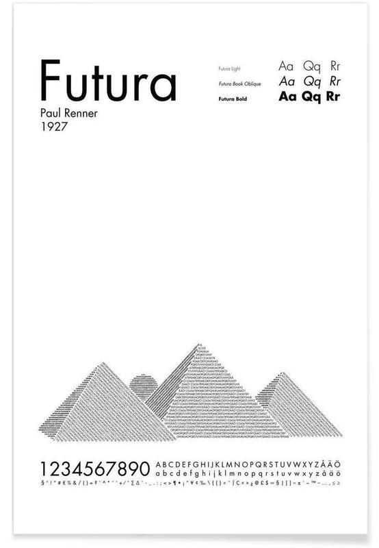 Futura Poster | JUNIQE UK