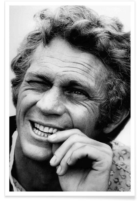 steve mcqueen en affiche premium juniqe. Black Bedroom Furniture Sets. Home Design Ideas