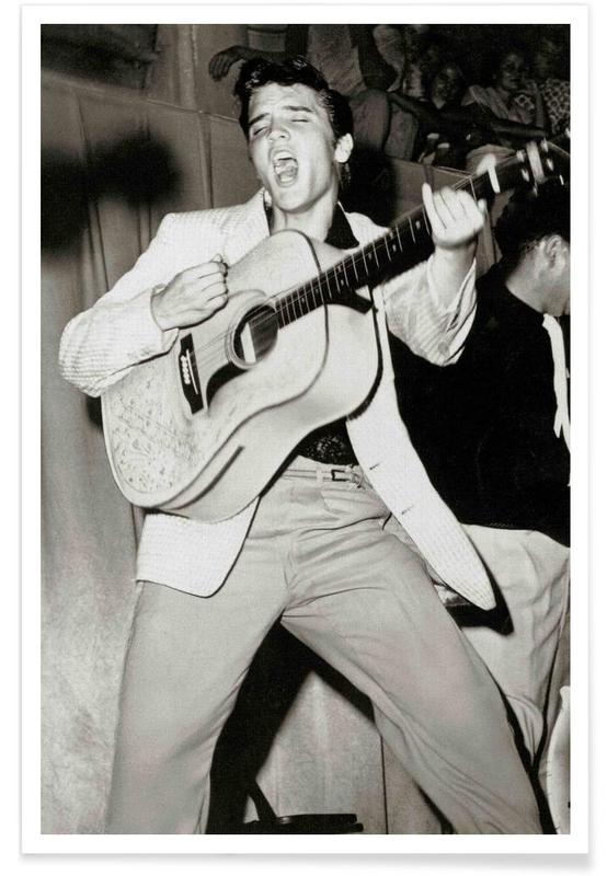 Elvis Presley Vintage Fotografie Poster Juniqe
