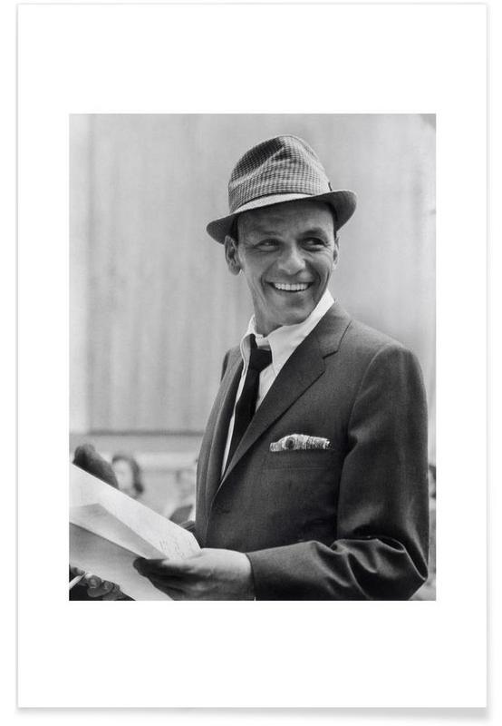 58aa0a0ab Frank Sinatra, 1957 Vintage Photograph Poster | JUNIQE UK