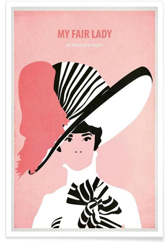 My Fair Lady Poster Juniqe Uk