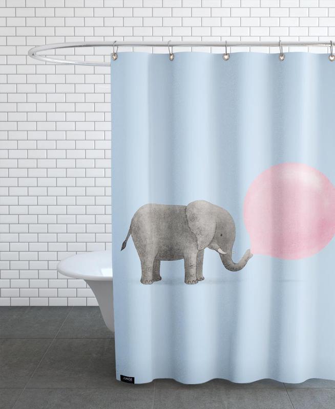 Jumbo Bubble As Shower Curtain By Terry Fan