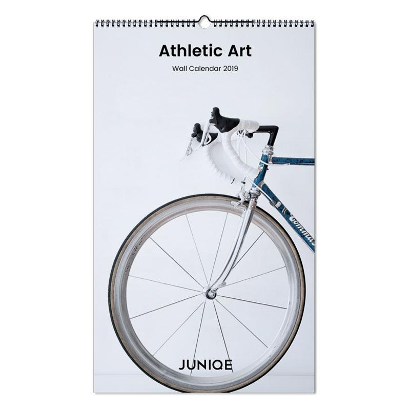 Athletic Art 2019 As Wall Calendar By Juniqe Juniqe
