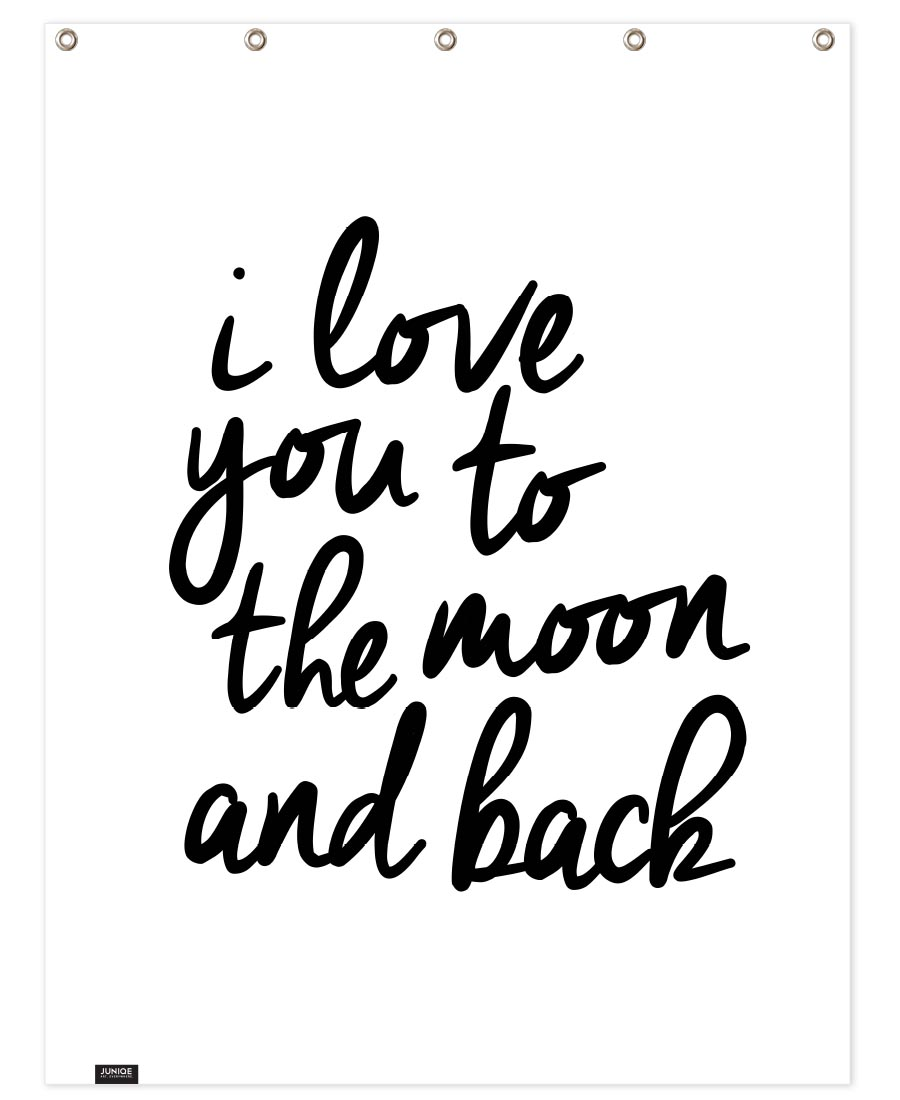 I Love You to the Moon and Back Hand & Bath Towel | JUNIQE UK