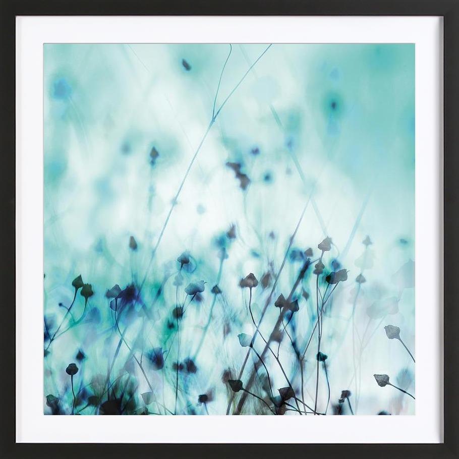 Blue - Framed Premium Poster 1x1