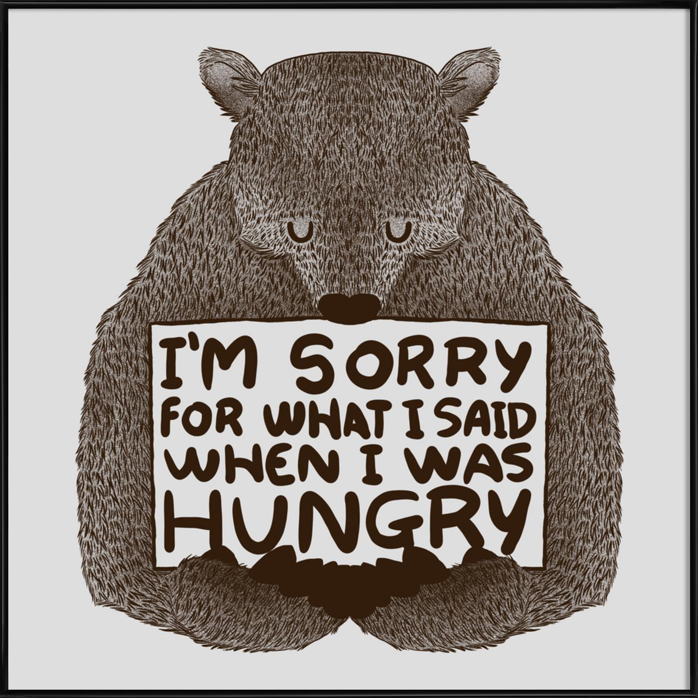 Gerahmte Entschuldigungs Poster online bestellen | JUNIQE