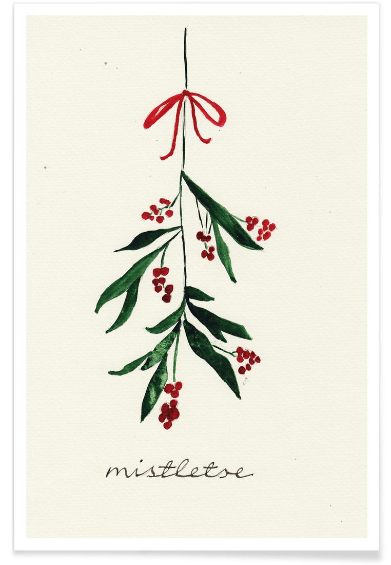 Mistletoe - Premium Poster Portrait