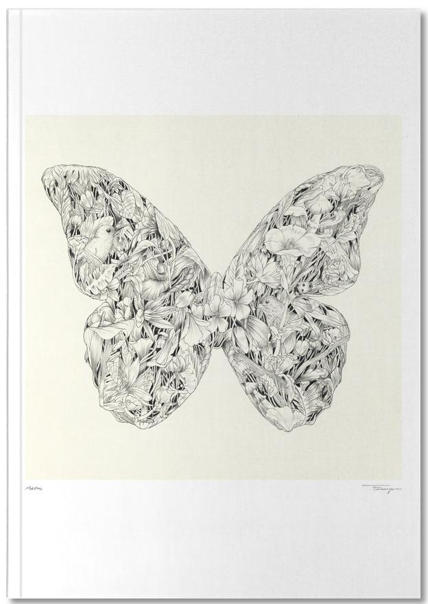butterflies Calendars & Planners Printed Hard Cover Notebooks By Matador
