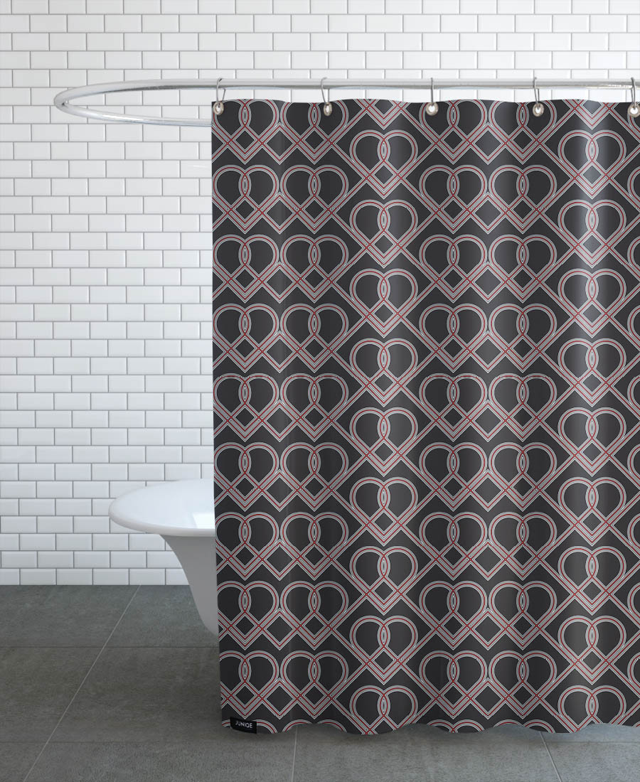 P And A As Shower Curtain By Thomas Fuchs