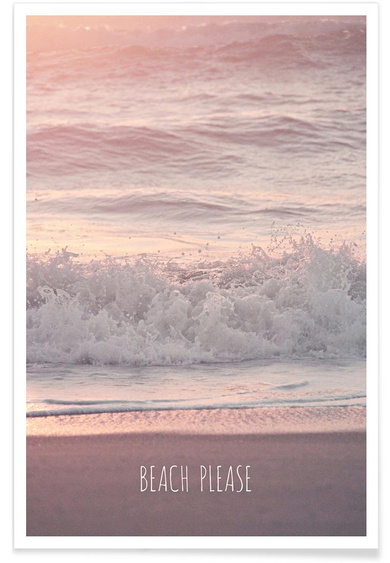 Beach Please - Premium Poster Portrait