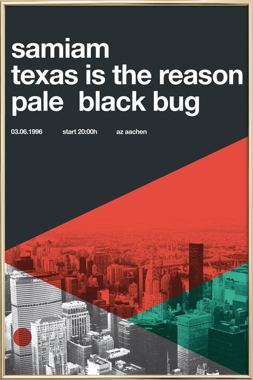 Samiam & Texas Is The Reason als Acrylglasbild | JUNIQE