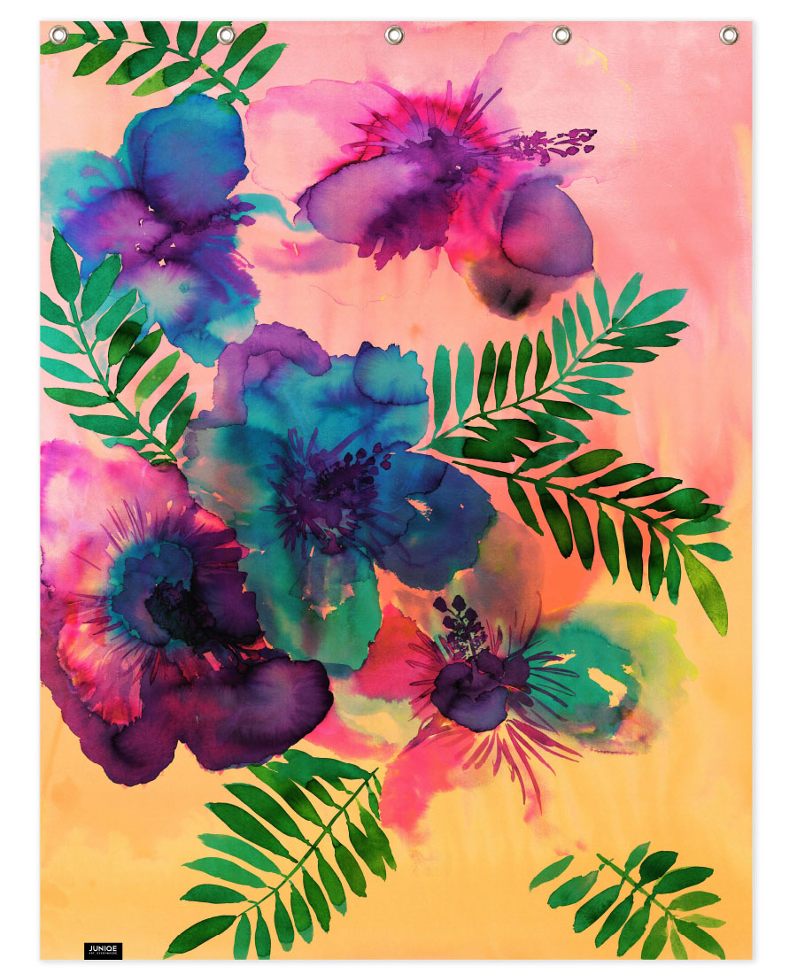 Skye Hibiscus Floral As Aluminium Print By Amy Sia Juniqe Uk