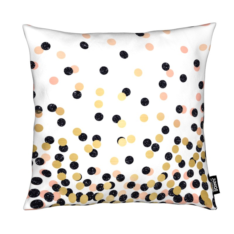 Polka Dots - All over cushion cover