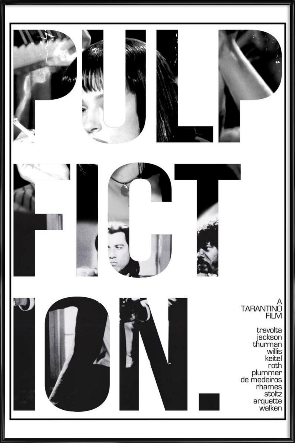 Pulp Fiction as Poster in Standard Frame by MD POSTERS | JUNIQE