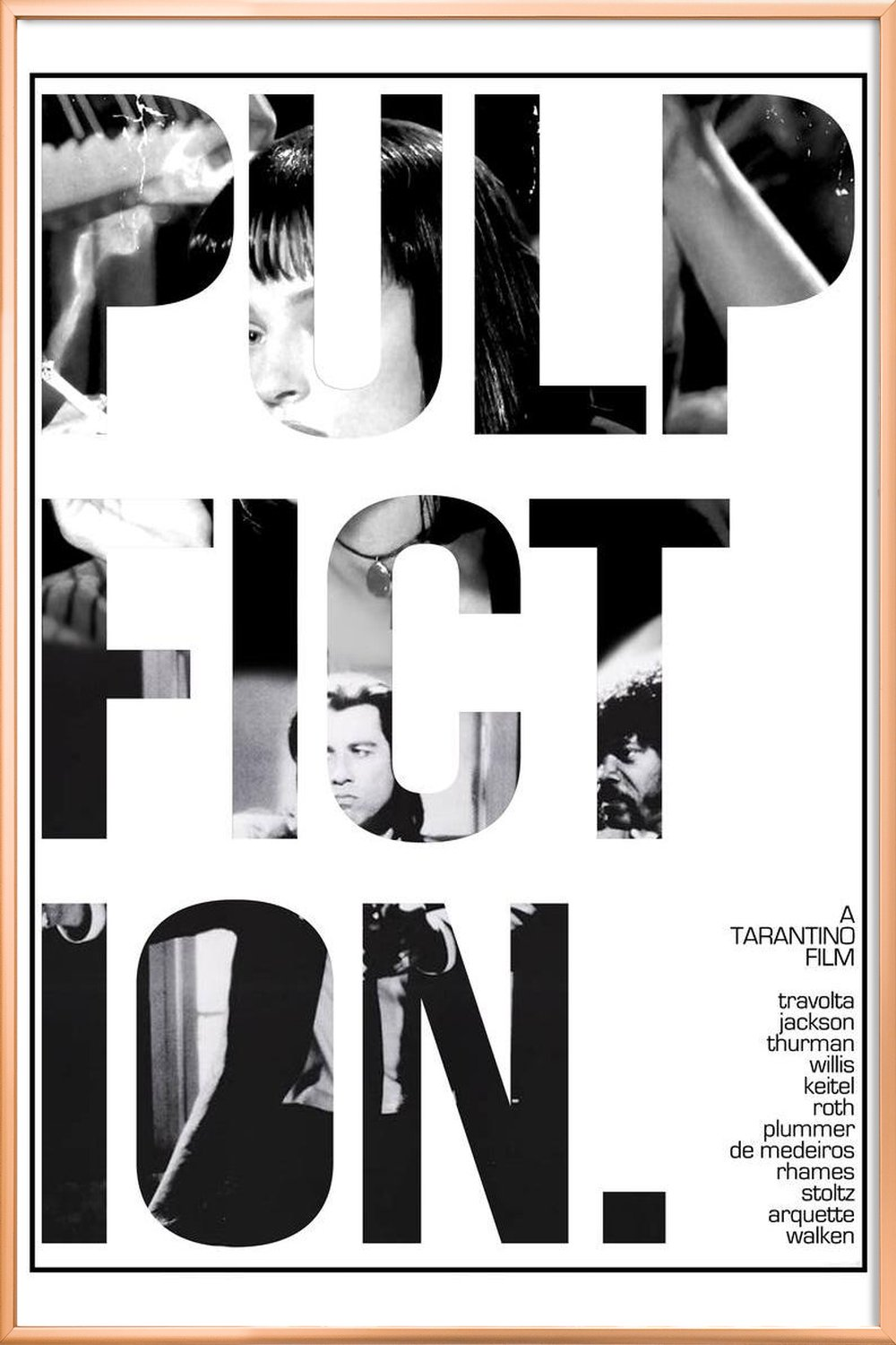 Pulp Fiction as Poster by MD POSTERS | JUNIQE