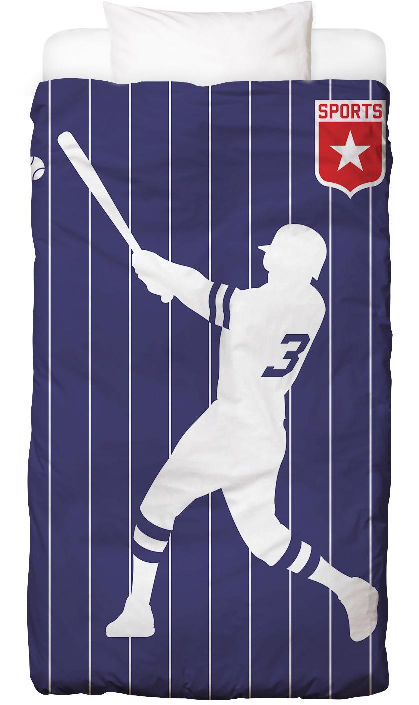 Baseball als Bettwäsche von Bo Lundberg | JUNIQE