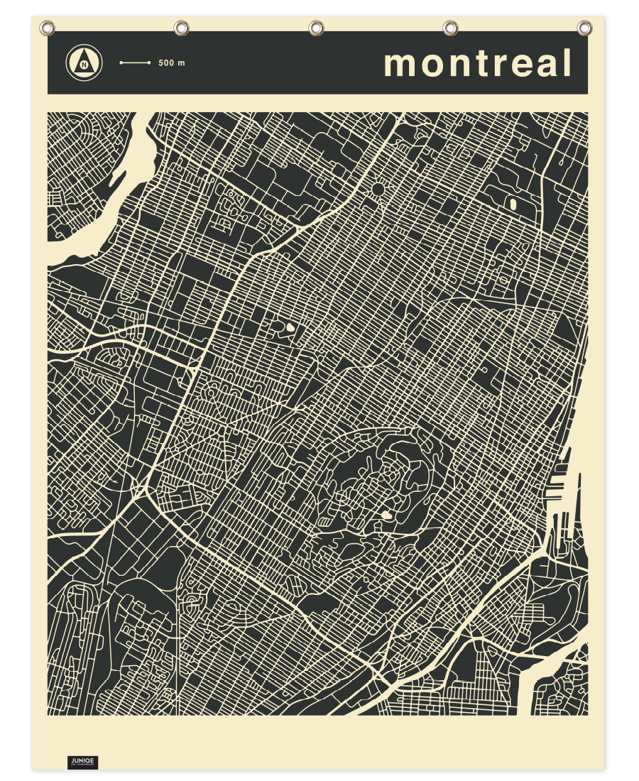 image about Printable Map of Montreal identified as Metropolis Maps Sequence 3 Collection 3 - Montreal