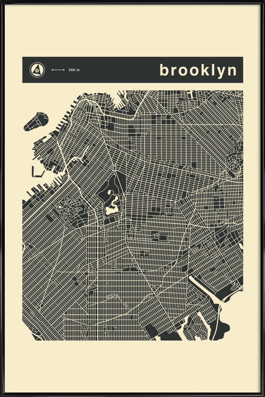 City Maps Series 3 Series 3 - Brooklyn als Poster im ...