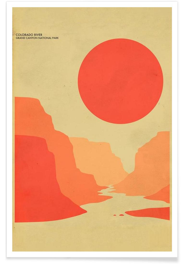 Grand Canyon National Park as Aluminium Print | JUNIQE