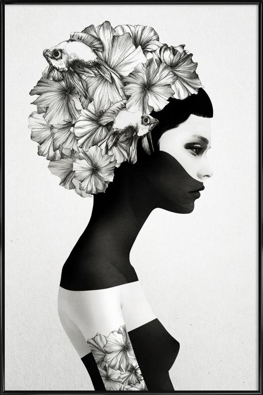 Marianna As Poster In Aluminium Frame By Ruben Ireland Juniqe