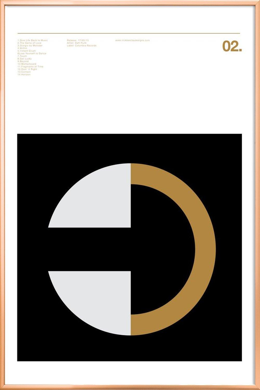Daft Punk Random Access Memories als Premium Poster | JUNIQE