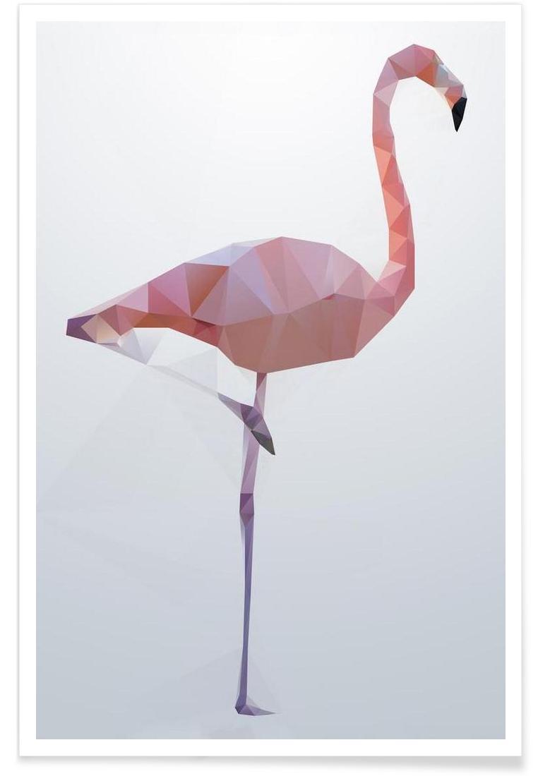 Flamingo - Premium Poster Portrait
