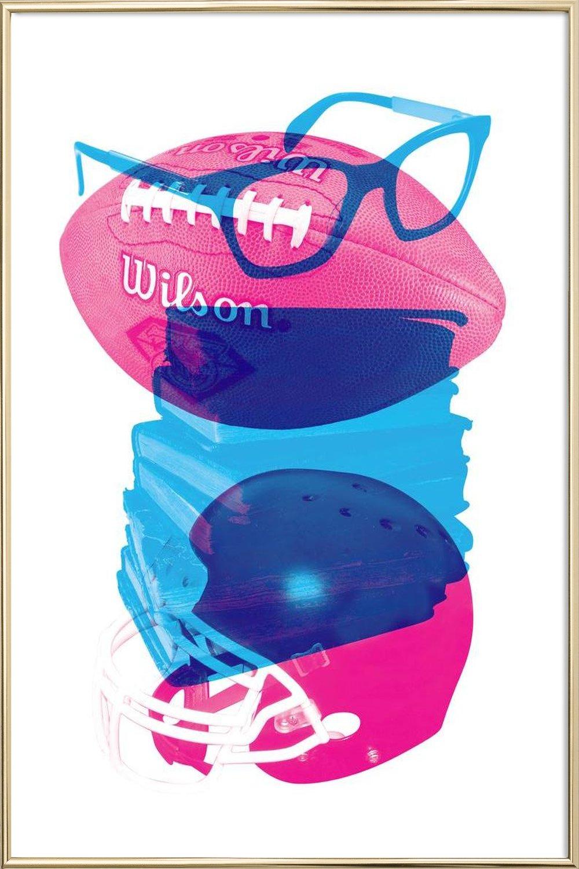 Nerd als Poster im Kunststoffrahmen von Chris Wharton | JUNIQE