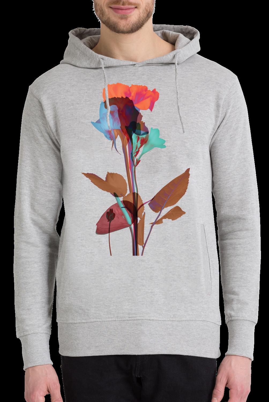 Ode Aux Fleurs Orange Blue Mint As Premium Poster Juniqe Mooi Printing Sweater Top