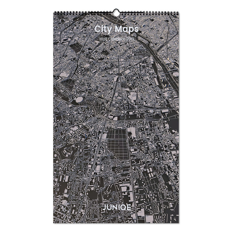 City Maps 2019 als Wandkalender von JUNIQE | JUNIQE