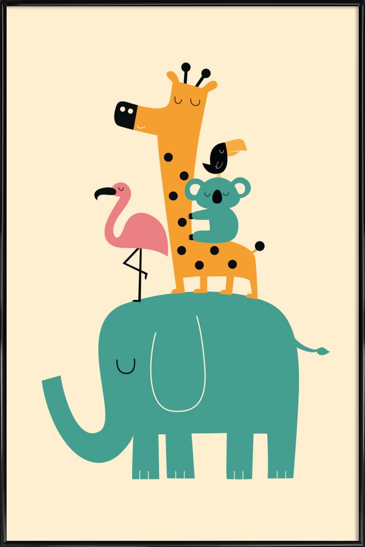 kinderbilder f rs kinderzimmer giraffe. Black Bedroom Furniture Sets. Home Design Ideas