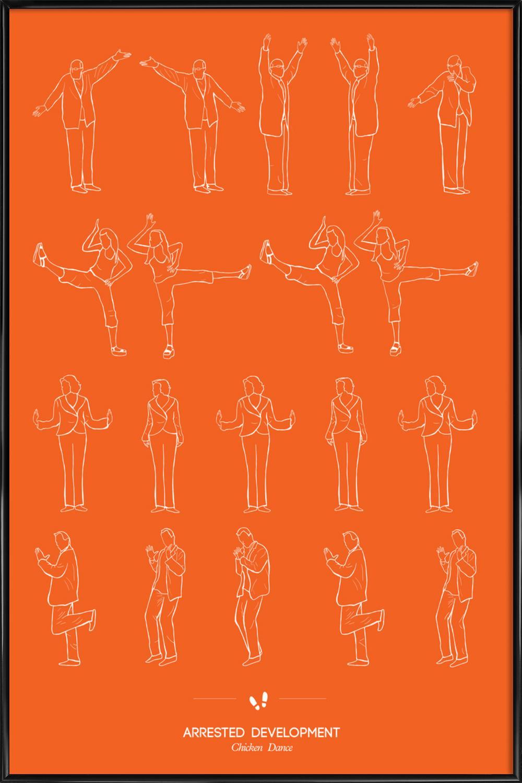 Arrested Development - Chicken Dance als Poster im Kunststoffrahmen ...