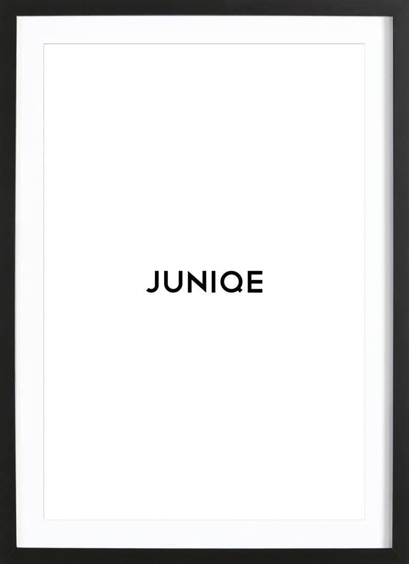 Rahmen - Rechteckig als Holzrahmen von JUNIQE | JUNIQE