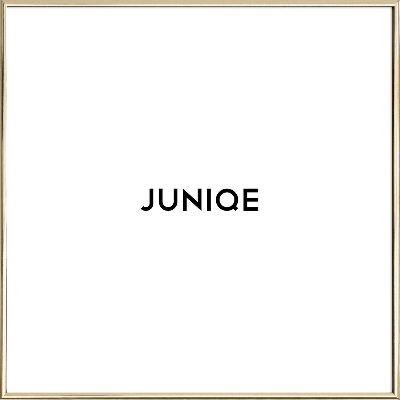 Rahmen - Quadrat als Kunststoffrahmen von JUNIQE | JUNIQE