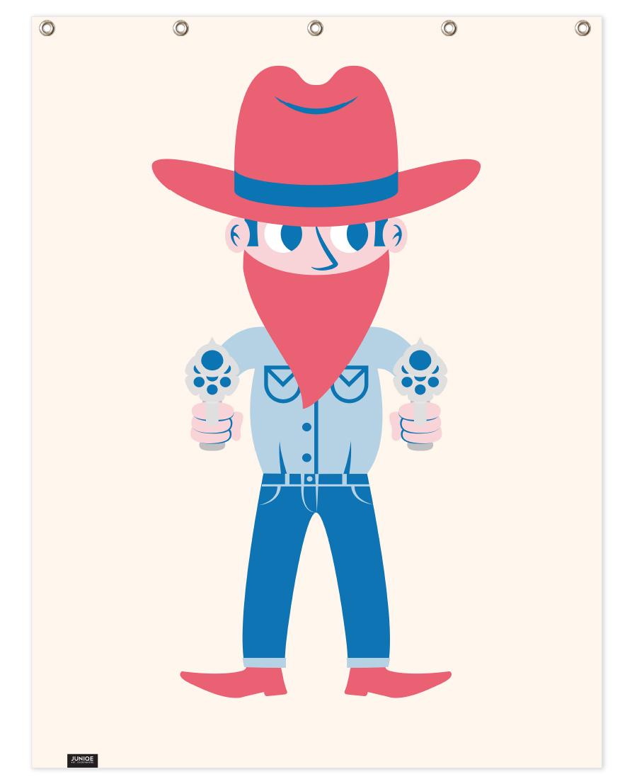 Cowboy als Poster von The Poster Kid   JUNIQE