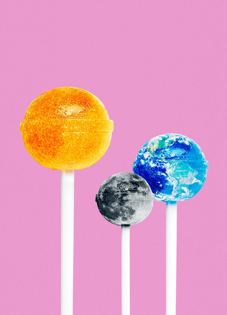 Lollipops As Greeting Card Set By Jonas Loose Juniqe