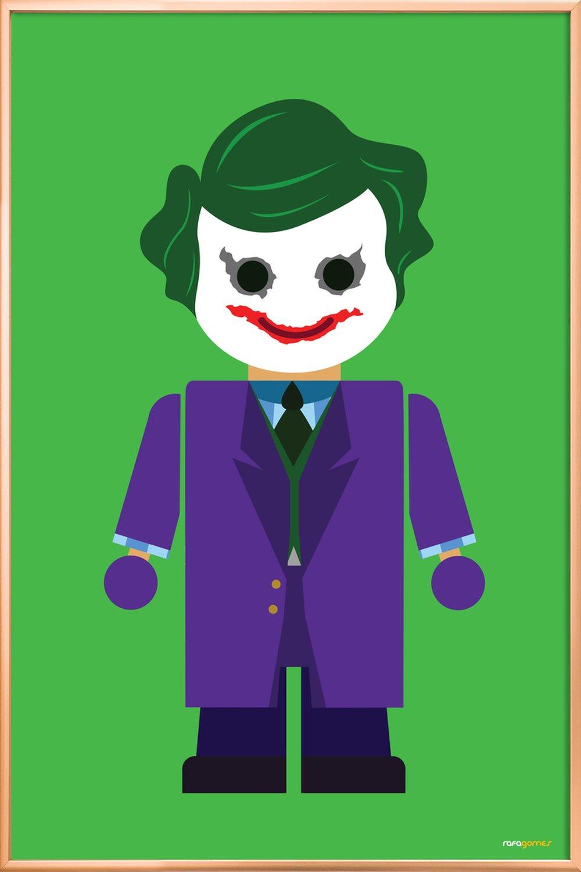 Joker Toy As Greeting Card Set By Rafa Gomes Juniqe
