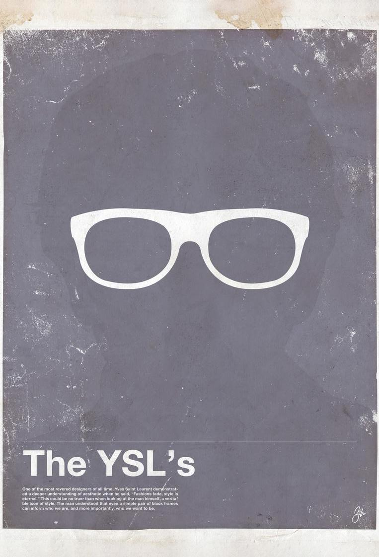 Framework YSL als Acrylglasbild von Moxy Creative House | JUNIQE