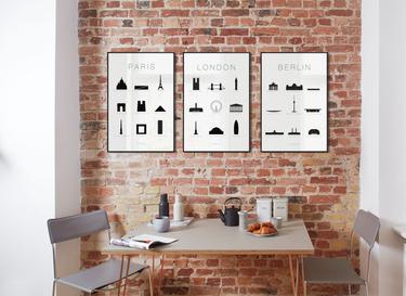 Gecureerde collecties ingelijste poster sets juniqe