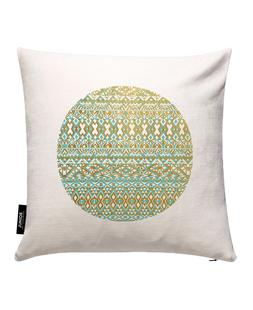 Mint And Gold Tribal Beach
