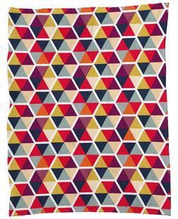 Colorful Umbrellas Geometric Pattern