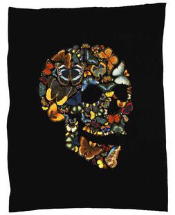 Butterfly Skull Vintage
