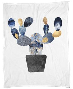 Blue and Gold Cactus