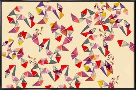 Watercolour triangles