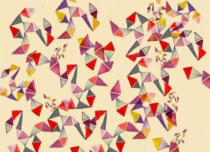 Watercolour triangles