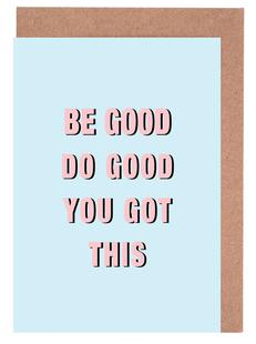 Be Good Do Good
