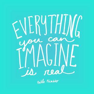Imagine - Teal
