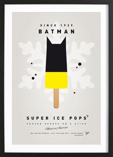 My Superhero Ice Pop - Batman