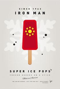 My Superhero Ice Pop - Iron Man