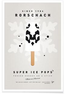 My Superhero Ice Pop - Rorschach